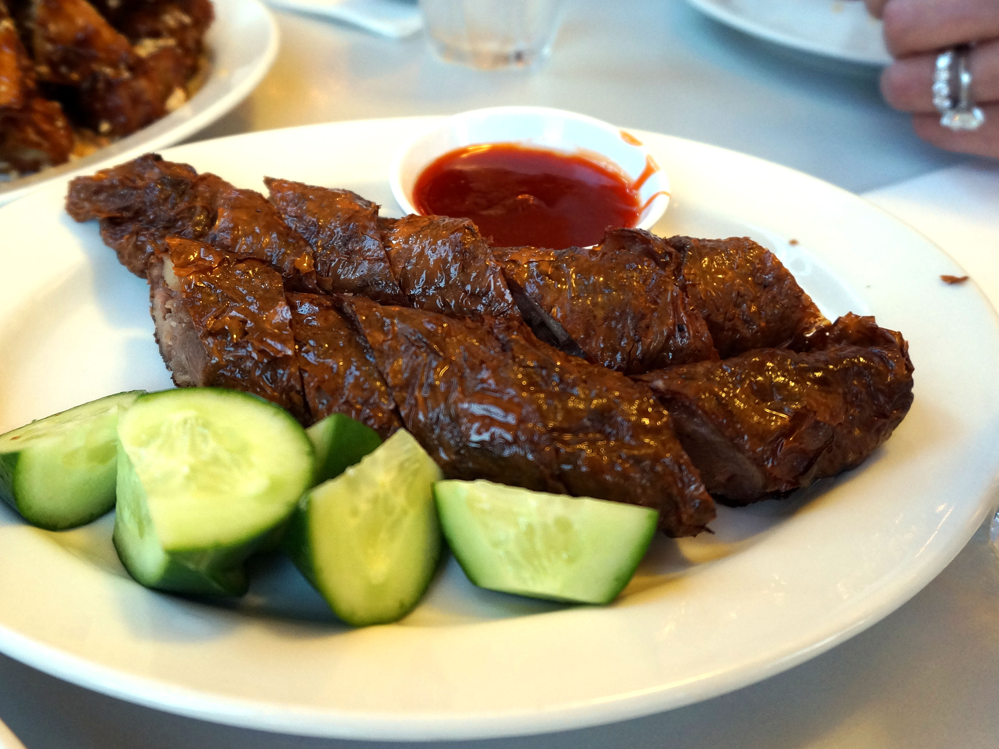 Homemade Lobak Raffles Way -'Minced pork marinated in five spice powder and wrapped in beancurd skin'