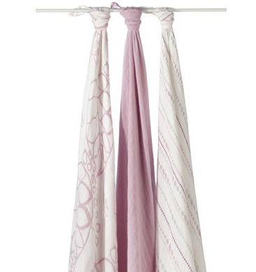 Aden and Anais bamboo muslin swaddle