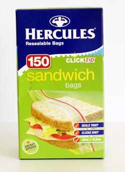 Hercules sandwich bags