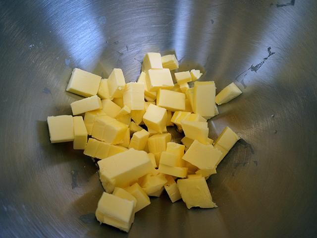 cream butter until smooth