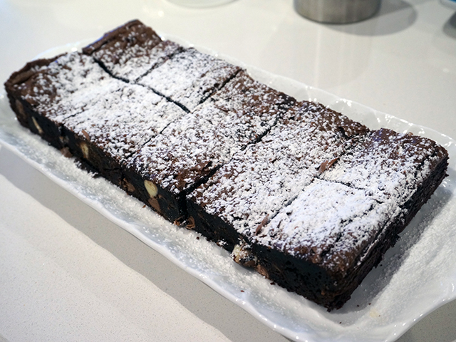 brownies ready to eat