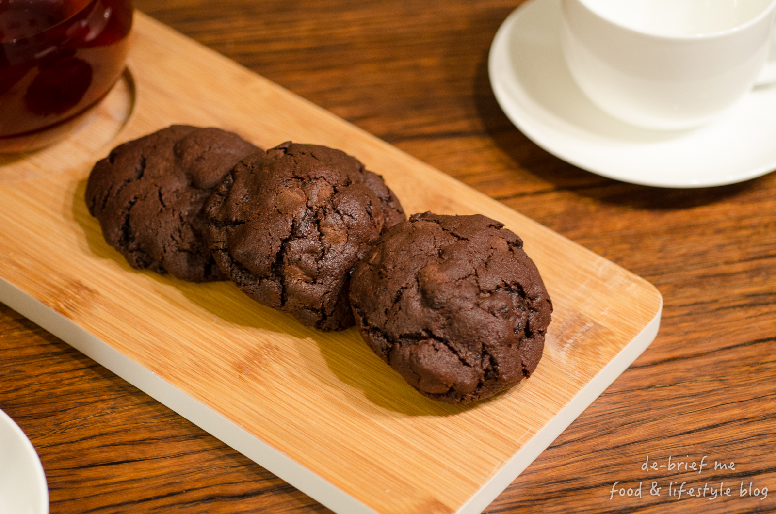 Dark chocolate cookies with sour cherries – my all time favourite ...