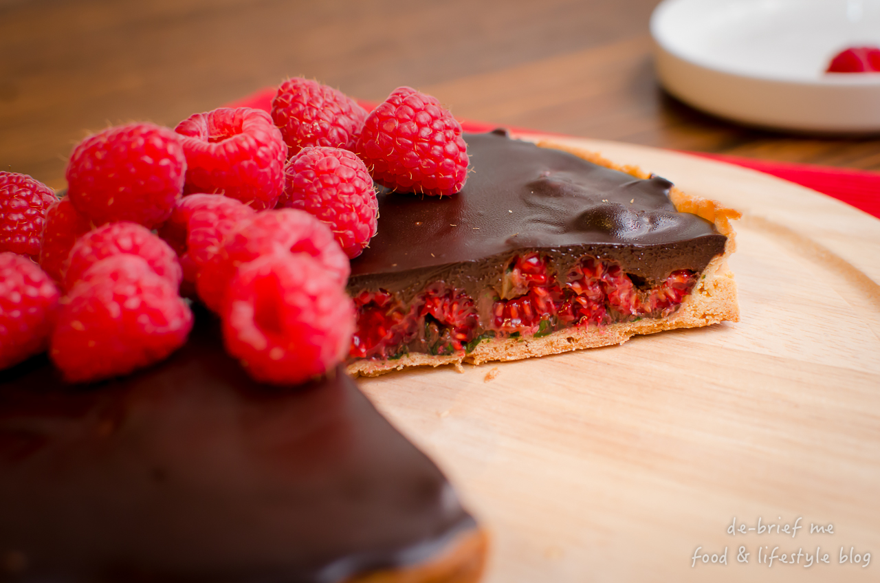nichel roux chocolate & raspberry tart 1280-37