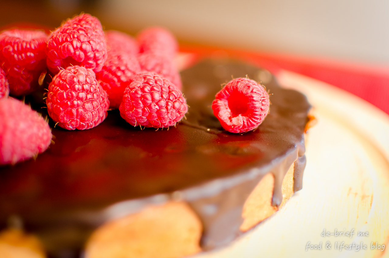 nichel roux chocolate & raspberry tart 1280-42